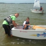 nick z and AJ opti regatta